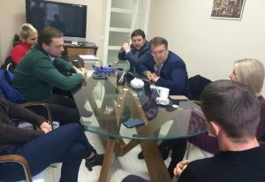 Meeting of public representatives with Anton Gerashchenko