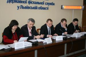 Round table with Auditors and Representatives of Lviv Fiscal Service
